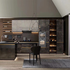 Boloni modern design custom new model luxury high gloss lacquer kitchen cabinet