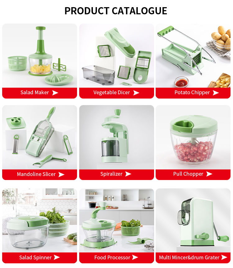 Plastic Multi Manual Vegetable Chopper Slicer Dicer