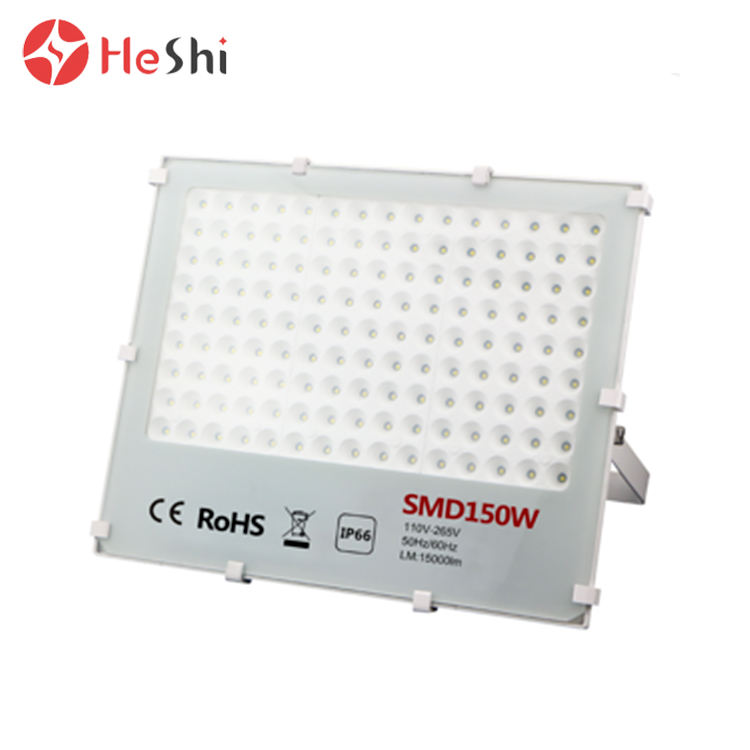 IP65 100w 150w 3000K/4500K/6000K outdoor waterproof cool white led flood light