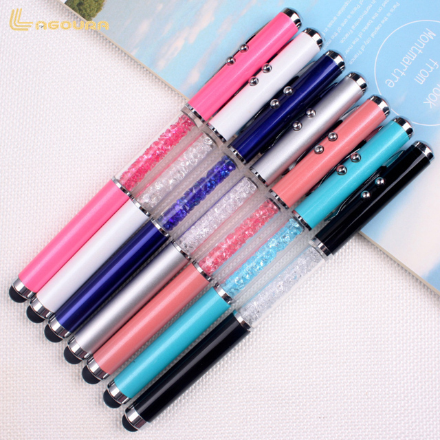 0.5mm multifunctional Capacitive Cap laser ballpoint pen wholesale