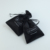 Custom string black jewelry satin silk pouch drawstring wig glasses duster satin bag