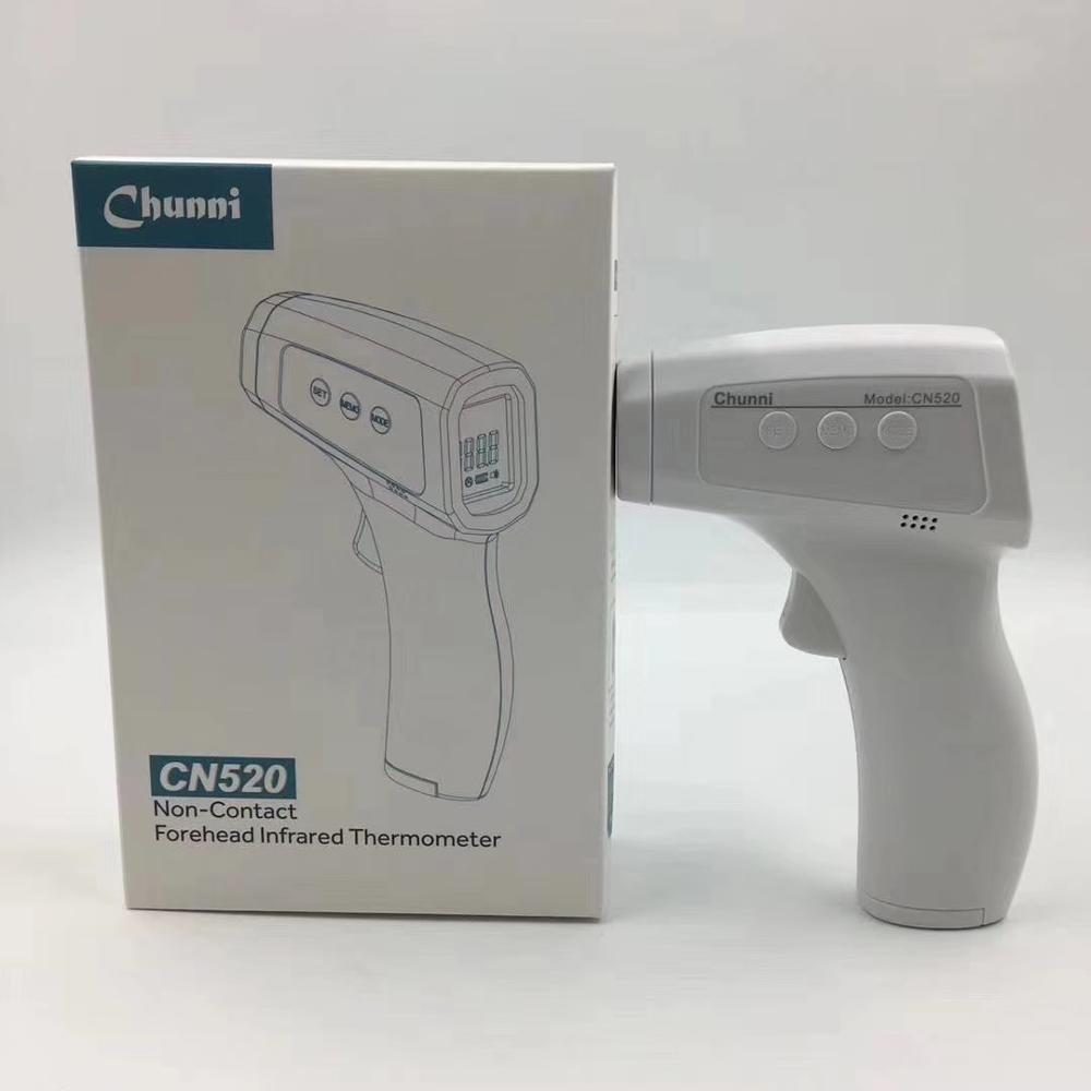 LCD Digital display Non-contact Forehead Infrared Thermometer CHUNNI CN520 Non-contact infrared body thermometer - KingCare | KingCare.net