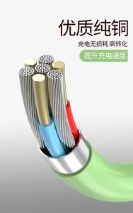 Liquid Silicone Mobile Phone Data Cable For Apple Android Type-C Huawei Soft TPE Fast Charging Cable