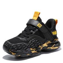 Новые детские кроссовки для бега, дышащие уличные кроссовки для мальчиков и девочек, брендовая спортивная обувь для мальчиков, детские крос...(Китай)