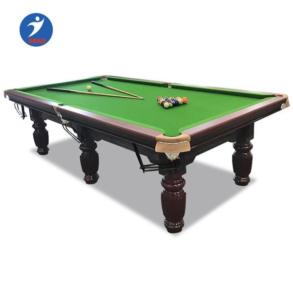 Moderna mesa de ténis de mesa de bilhar da ardósia preta 8 pé 9ft mesa de sinuca bilhar
