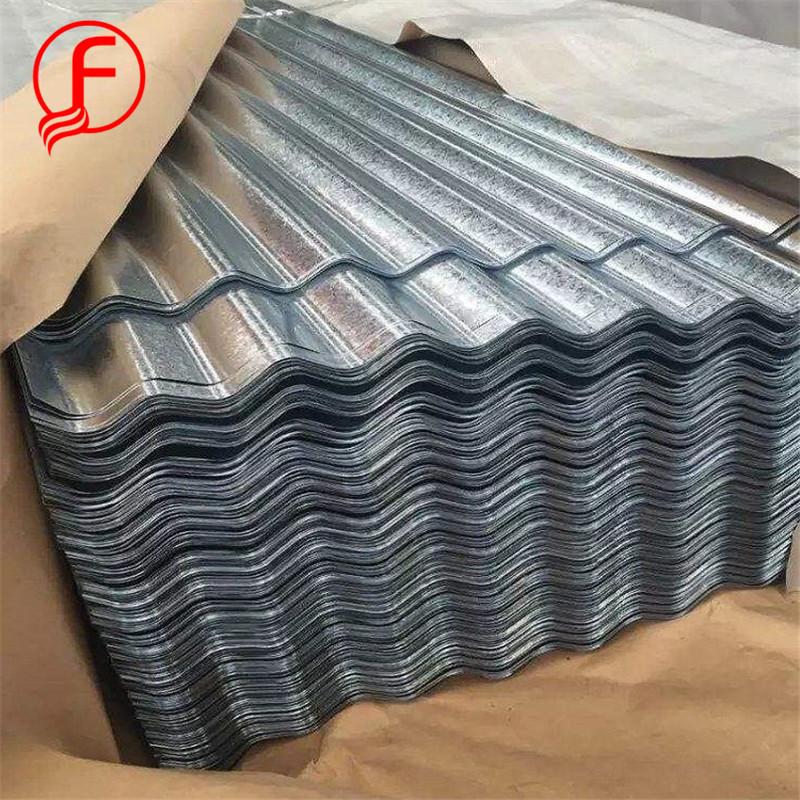 Haute qualité! Feuille ondulée gi tôle d'acier pour le métal tuiles enduites