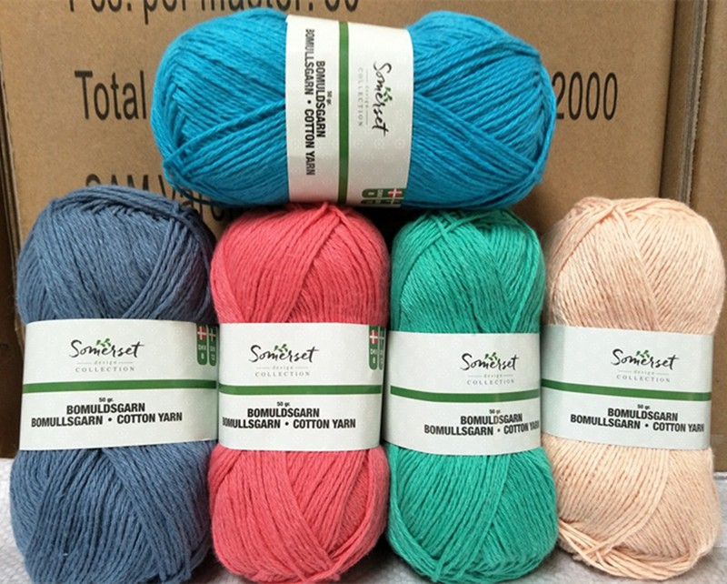 Free Samples 8s/4 Various Colors Soft Worsted Dk Knitting ...