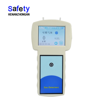 KP668 Zhongan Infrared Touch Screen CO2 Gas Alarm Gas Leakage Detector