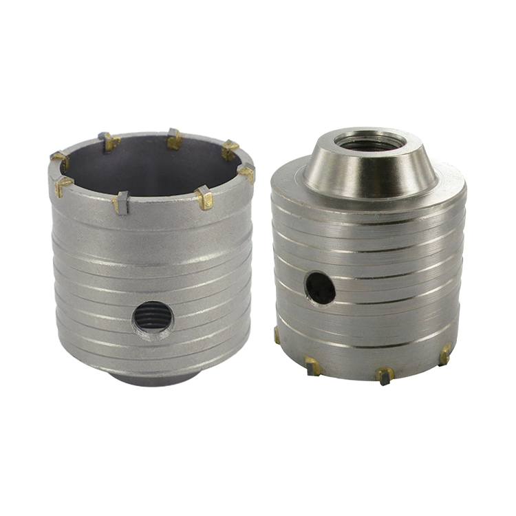 Dry Cutting Concrete Hole Saw Hollow HM TCT Core Drill Bit for Concrete Wall Brick Block