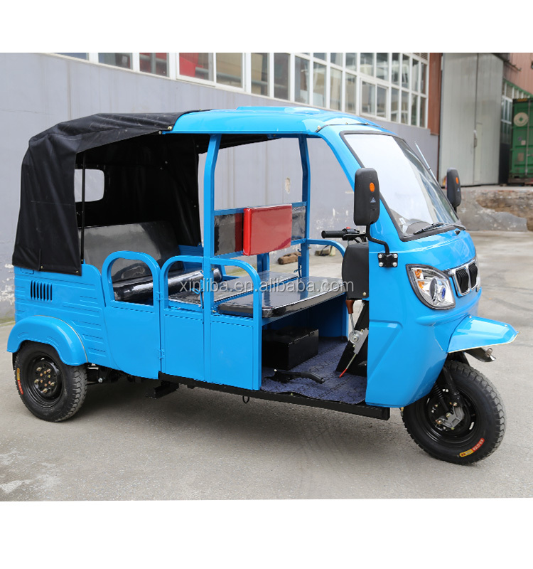 6 passenger three wheel motor tricycle for sale