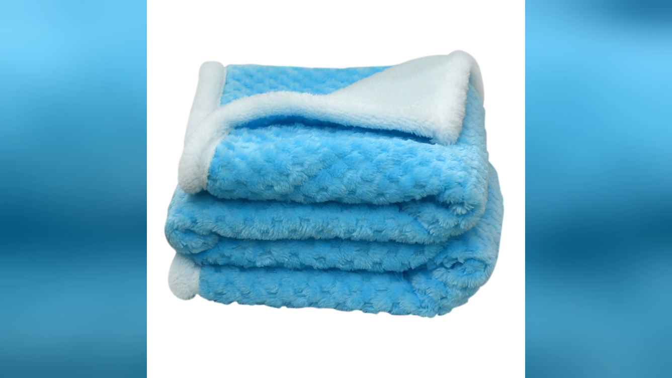 Factory Knitted Baby Blanket Warm Quality Wholesale Baby Blankets Unisex Newborn Baby Blanket