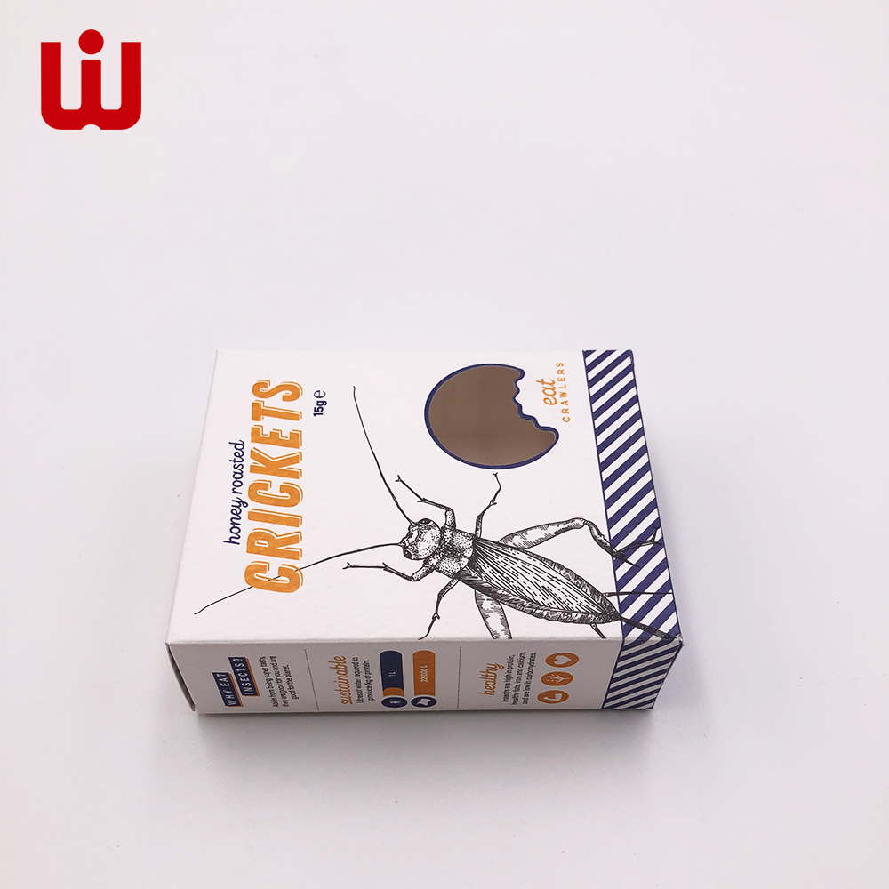 Hot Customize Insect Feed Paper Box