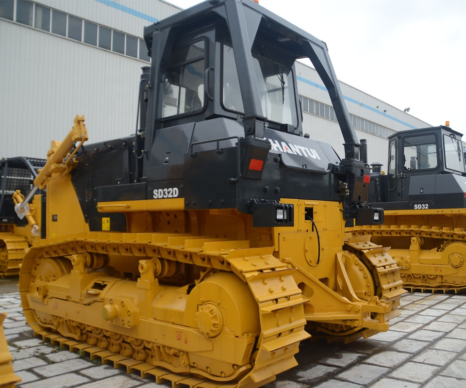 320HP New Cheapest SD32 China Large Hydraulic Crawler Bulldozer SD32 with High Efficiency