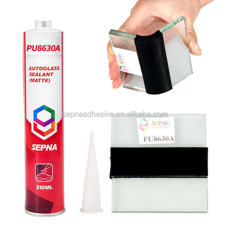 PU8630 310ml cartridge/600ml sausage auto windshield pu <strong>sealant</strong> and adhesive resin for <strong>glass</strong> replacement