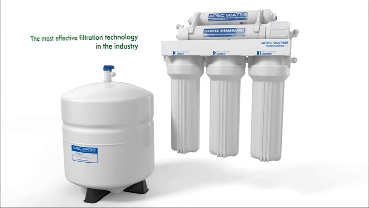 7 stages water alkaline purifier ro water filter system