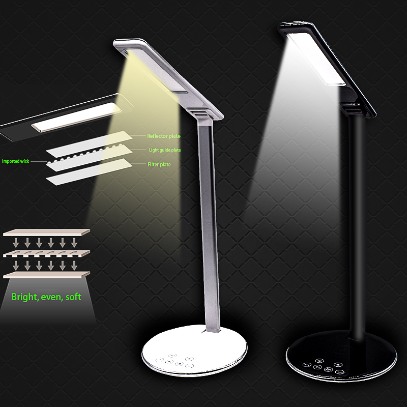 LED Table Lamp Dimmable Touch with USB Port Lamp Wireless charge Portable led Desk Lamp