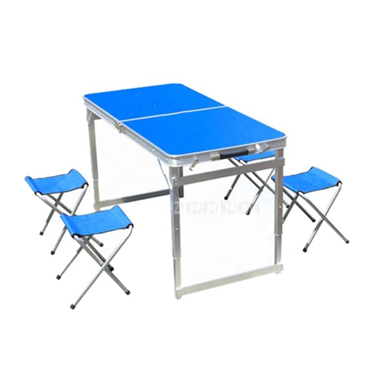 محمولة سهلة الحمل قابلة للطي نزهة قابلة للطي الشواء في الهواء الطلق التخييم والكراسي طاولة مجموعة
