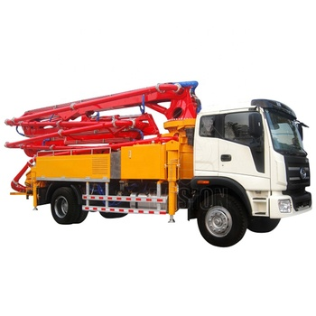 25m manual truck mounted hydraulic concrete placing booms pumps