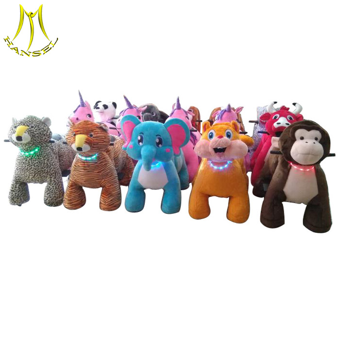 Hansel high quality battery operated stuffed <strong>animal</strong> ride <strong>electric</strong>