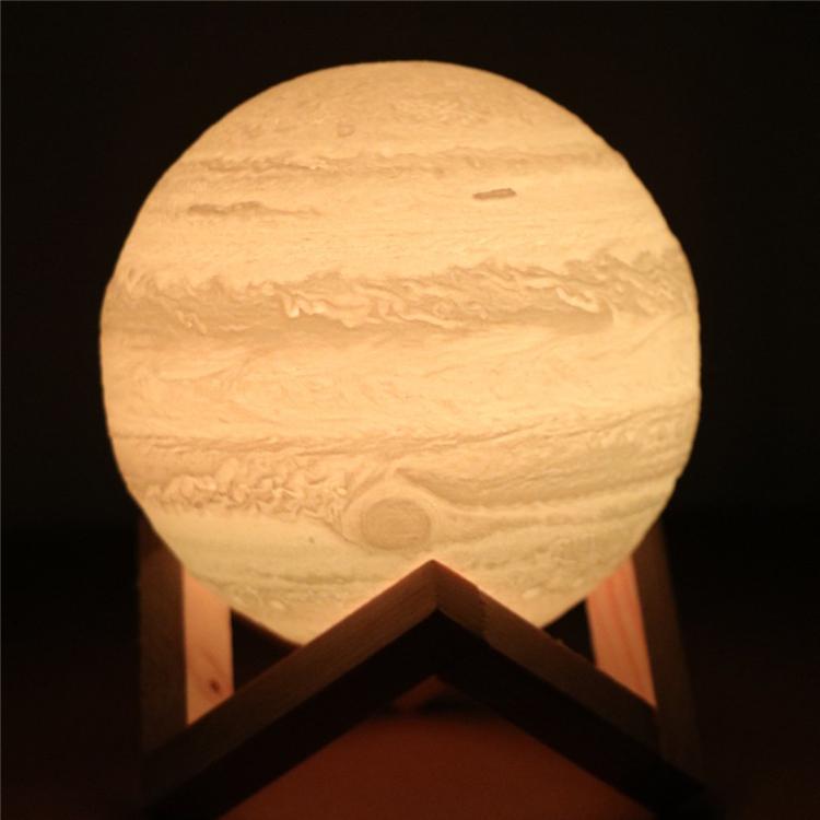 Levitazione magnetica luna lampada a forma di Luce di Notte Con La Rotante Elettrico 3D stampa galleggiante lampada luna