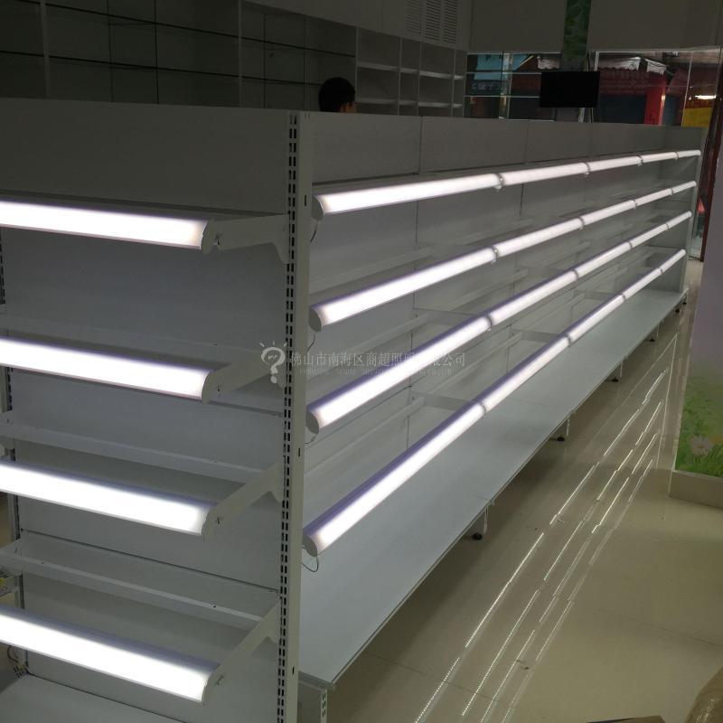12V Track Rail For High End Retail Displays Shelf Lighting Supermarket Shelf System LED Shelf Light Rail Dc Power Connector