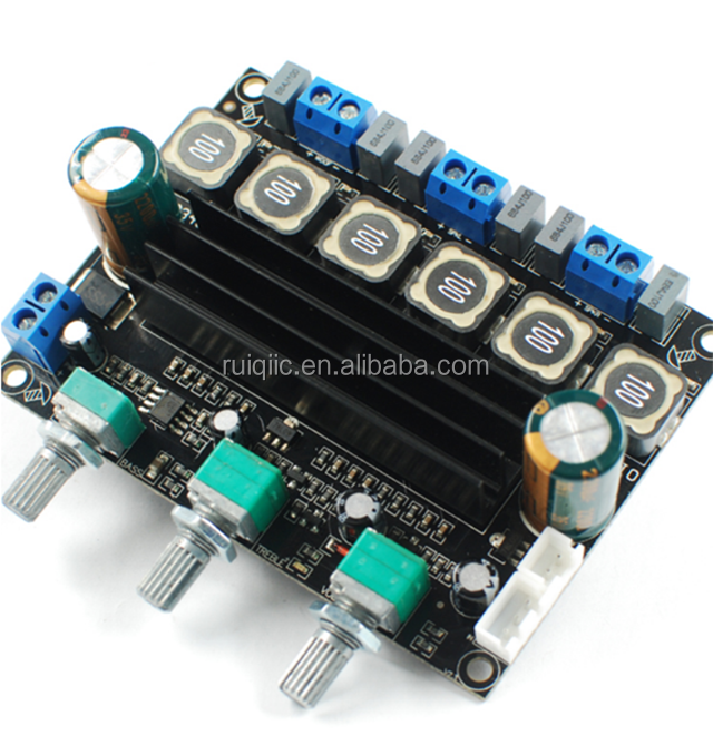 TPA3116D2 High Power HI FI Digital 2.1 Kelebihan Berat Badan Subwoofer Power Amplifier Board 10-25 V Piring Selesai