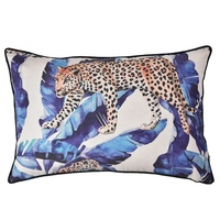 Digital printing leopard sofa linen homes and gardens lounge cushion pads fashion design