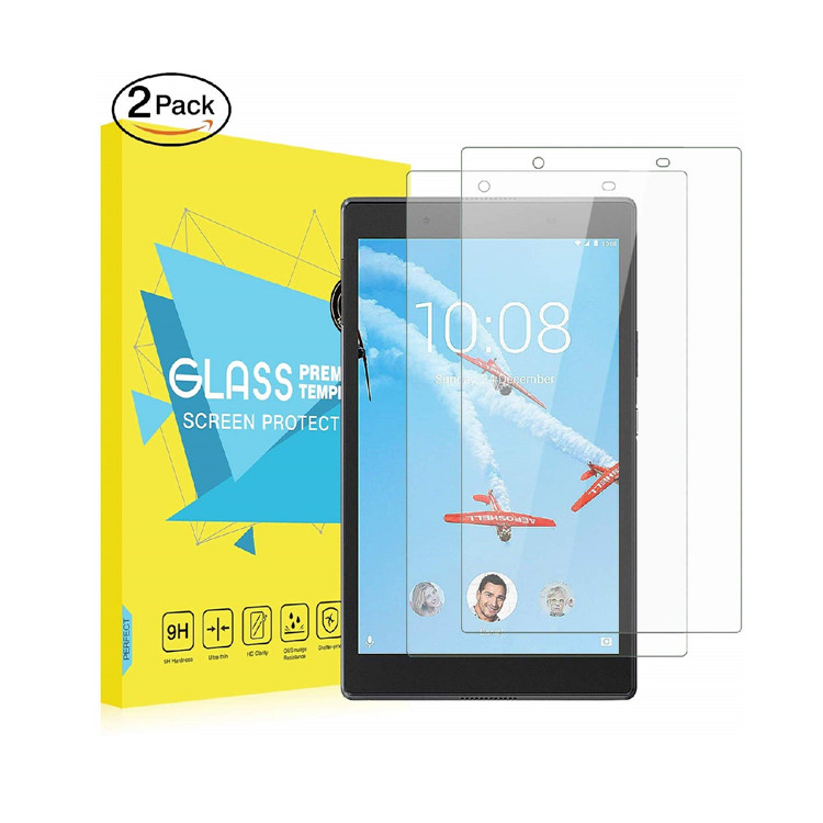 MoKo [2-Pack] Anti-Scratch/Fingerprint Screen Protector Tempered Glass Film For Lenovo Tab 4 8 Inch Tablet