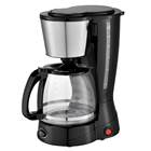 1.5L/12 Cup Home Use Electric Drip Coffee Maker Machine With Stainless Steel Decoration