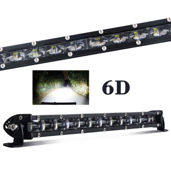 "CE ROHS 4x4 Led Light Bar Truck,8 14 20 22"" 32"" 38"" 44"" 50"" inch Offroad Car super slim 6D single Row Led Light Bar"