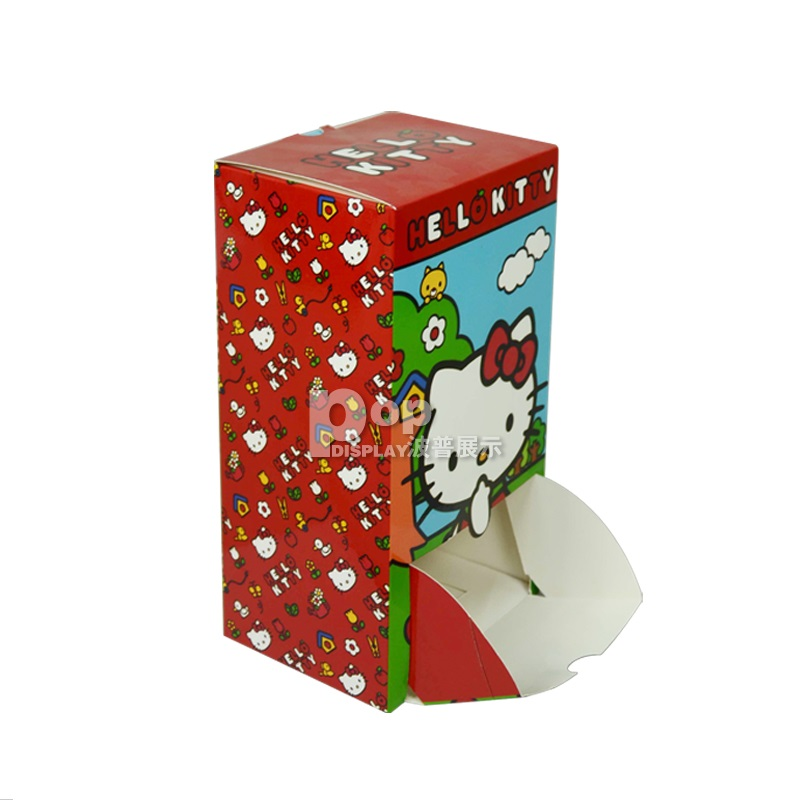 Food candle lovely  kids paper packing gift box item