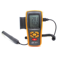 handle portable Hygrometer GM1361 Digital Temperature and humidity meter manufacturer Temperature Sensor