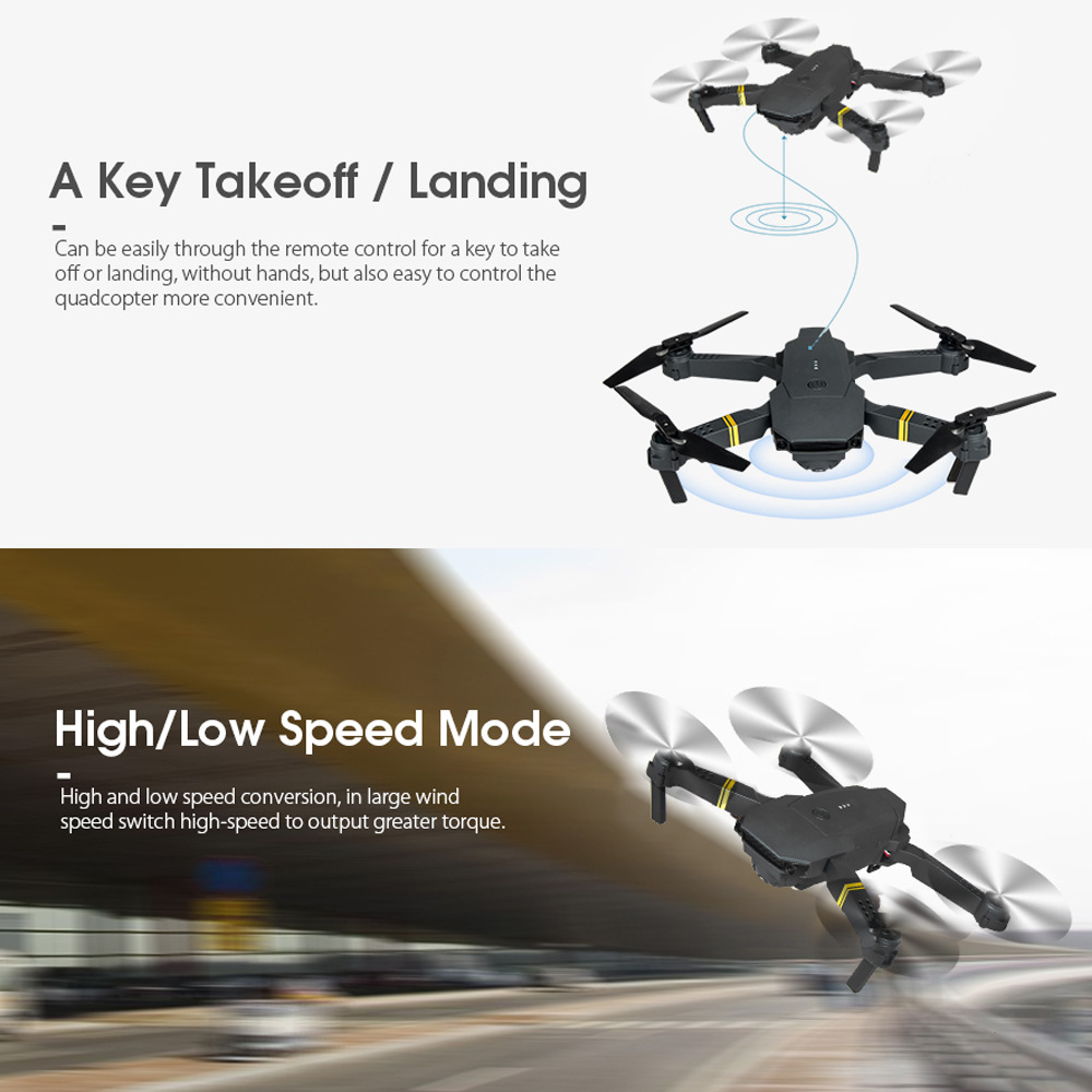 Newest S168 JY019 2.4G RC Folding Drone with Wifi FPV 4k professional Camera mavic mini drones