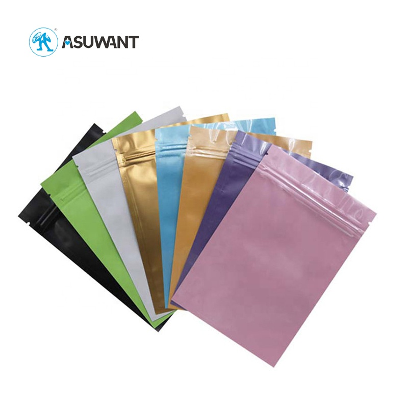 Health Food Color Printing Stand Up Aluminum Foil Food Packaging Pouch Bag