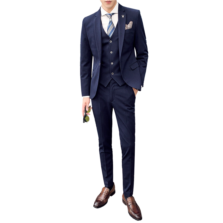 2020 New design hot sale 3 piece <strong>formal</strong> <strong>suits</strong> for men