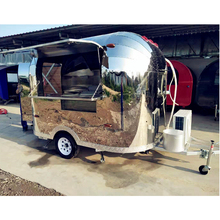 Hot selling in USA Concessie Fast Food Mobiele Keuken Airsteams Voedsel Trailer