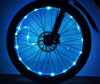 Bike Accessories Spoke Light Plastic Led Bicycle Lights