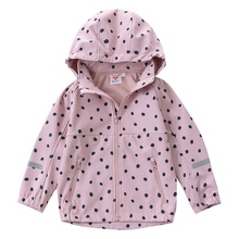 Doux Fille <span class=keywords><strong>Softshell</strong></span> Doublée Polaire Veste À Capuche Coupe-Vent Manteau <span class=keywords><strong>enfants</strong></span> <span class=keywords><strong>softshell</strong></span>