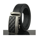 Leather Ratchet Belt for Men Perfect Fit Waist Size Up to 50inches with Automatic Buckle