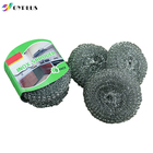 Kitchen cleaning stainless steel scourer steel wire cleaning ball