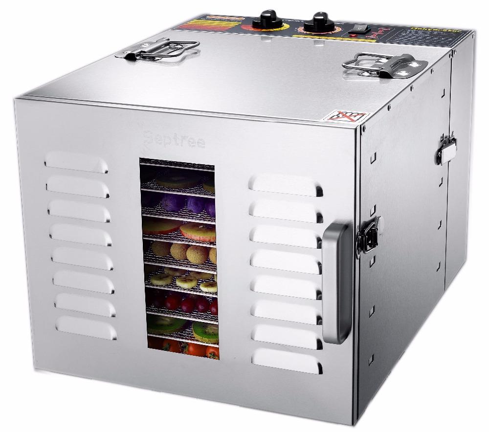 Energiebesparing Mini Kleine Home Bay Blad Commerciële Fruit Drogen Machine Met Roestvrijstalen Kast Dehydrator