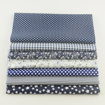 Fat quarters printed+Fabric 100%cotton sewing materials for tissu patchwork wholesale