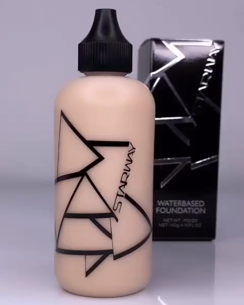 Classic beauty makeup foundation face water base foundation full coverage waterproof liquid foundation