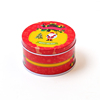 Children'S Gifts Tinplate Tin Candy Cans For Christmas Ornament Round Cookie Jar Candy Storage Box, Jewelry