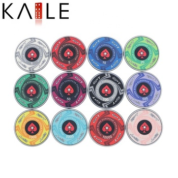 10g Custom Ceramic Poker Chips Factory