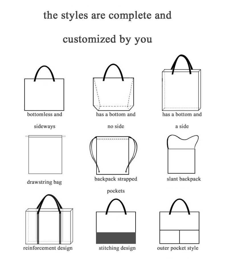 China Factory Wholesale Reusable Non-woven Tote Shopping Bag Large Size With Shoulder And Handle Style For Everyone!!!