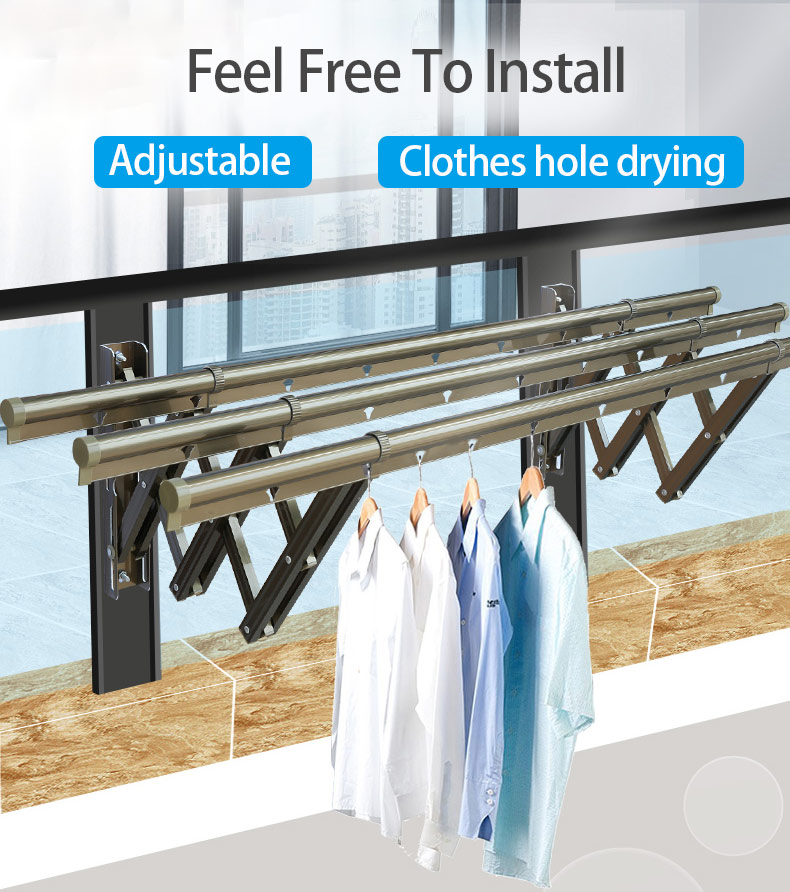 extendable clothes line