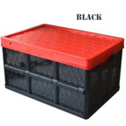 Wholesale high quality stack-able storage logistic box collapsible plastic folding logistic box