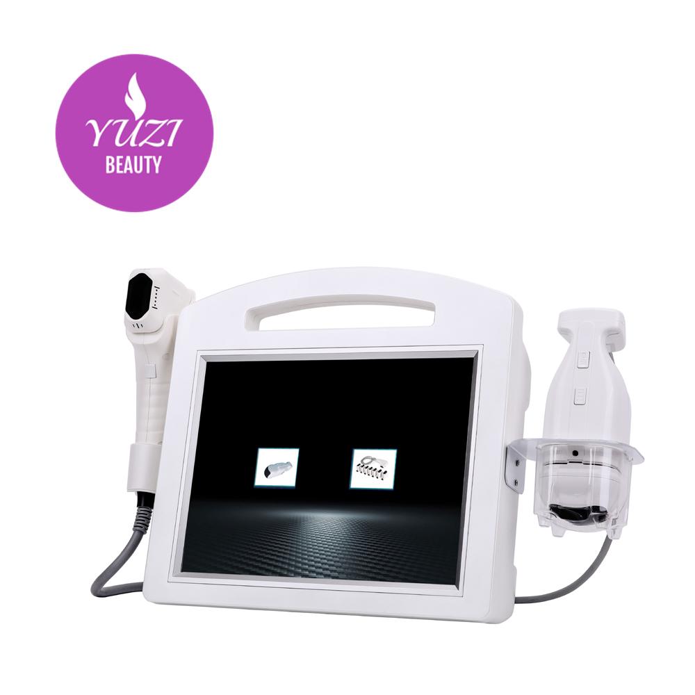 the new 2 in1 HIFU Face Lift Hifu Machine / liposonic machine  / 4D Hifu Machine