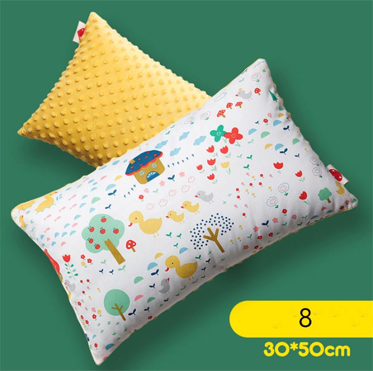 Komfortable und weiche samt baumwolle hergestellt baby unterstützung kissen für schlaf